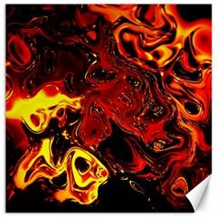 Fire Canvas 20  X 20  (unframed)