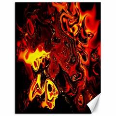 Fire Canvas 18  x 24  (Unframed)