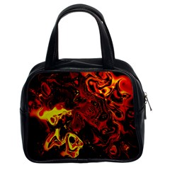 Fire Classic Handbag (two Sides)