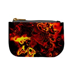 Fire Coin Change Purse