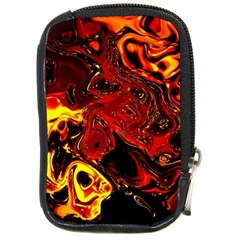 Fire Compact Camera Leather Case