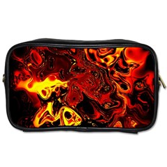 Fire Travel Toiletry Bag (two Sides)