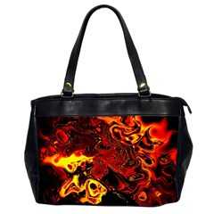 Fire Oversize Office Handbag (two Sides)