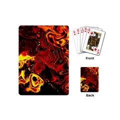 Fire Playing Cards (Mini)