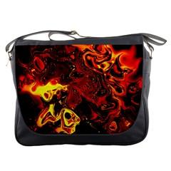 Fire Messenger Bag
