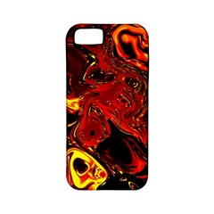 Fire Apple iPhone 5 Classic Hardshell Case (PC+Silicone)