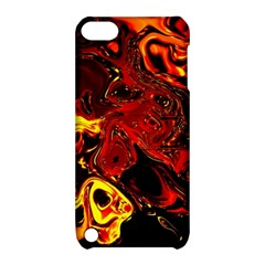 Fire Apple iPod Touch 5 Hardshell Case with Stand