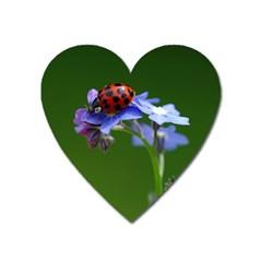 Good Luck Magnet (Heart)