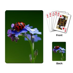 Good Luck Playing Cards Single Design