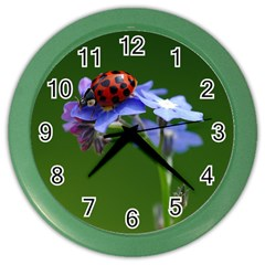 Good Luck Wall Clock (color)