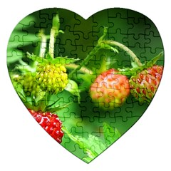 Strawberry  Jigsaw Puzzle (Heart)