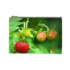Strawberry  Cosmetic Bag (Large)