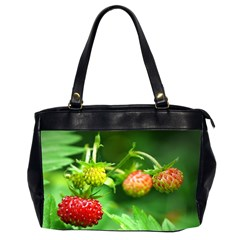 Strawberry  Oversize Office Handbag (Two Sides)