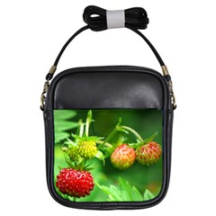 Strawberry  Girl s Sling Bag