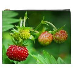 Strawberry  Cosmetic Bag (XXXL)