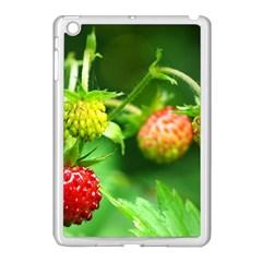 Strawberry  Apple iPad Mini Case (White)