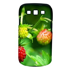 Strawberry  Samsung Galaxy S III Classic Hardshell Case (PC+Silicone)