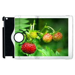Strawberry  Apple iPad 2 Flip 360 Case