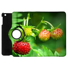 Strawberry  Apple iPad Mini Flip 360 Case