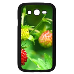 Strawberry  Samsung Galaxy Grand DUOS I9082 Case (Black)