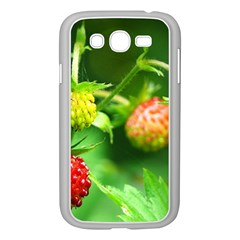 Strawberry  Samsung Galaxy Grand DUOS I9082 Case (White)