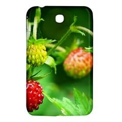 Strawberry  Samsung Galaxy Tab 3 (7 ) P3200 Hardshell Case