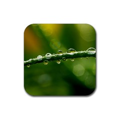 Waterdrops Drink Coaster (Square)