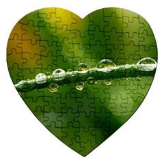 Waterdrops Jigsaw Puzzle (Heart)