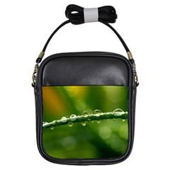 Waterdrops Girl s Sling Bag