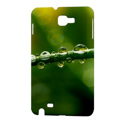 Waterdrops Samsung Galaxy Note 1 Hardshell Case