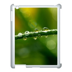 Waterdrops Apple iPad 3/4 Case (White)