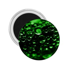Waterdrops 2 25  Button Magnet
