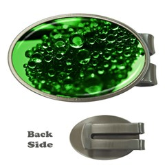 Waterdrops Money Clip (Oval)