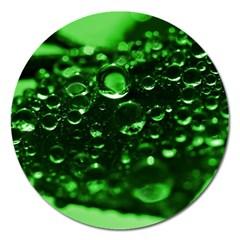 Waterdrops Magnet 5  (Round)