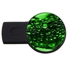 Waterdrops 1GB USB Flash Drive (Round)