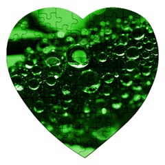 Waterdrops Jigsaw Puzzle (Heart)