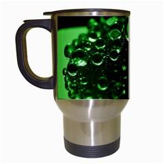 Waterdrops Travel Mug (white)