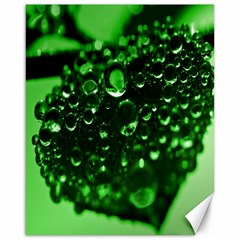 Waterdrops Canvas 16  x 20  (Unframed)