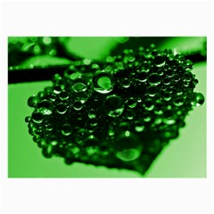 Waterdrops Glasses Cloth (large, Two Sided)