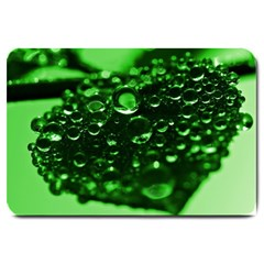 Waterdrops Large Door Mat