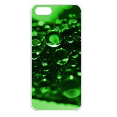 Waterdrops Apple iPhone 5 Seamless Case (White)