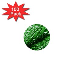 Waterdrops 1  Mini Button (100 Pack)