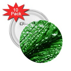 Waterdrops 2 25  Button (10 Pack)