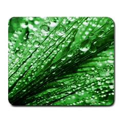 Waterdrops Large Mouse Pad (Rectangle)