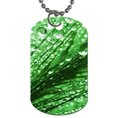 Waterdrops Dog Tag (two Sided)