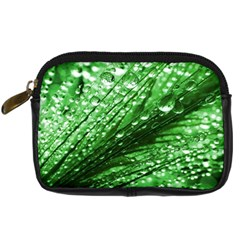 Waterdrops Digital Camera Leather Case