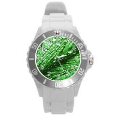 Waterdrops Plastic Sport Watch (Large)
