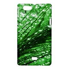 Waterdrops Sony Xperia Miro Hardshell Case