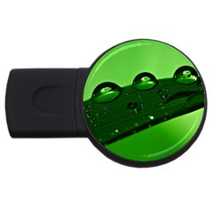 Waterdrops 2GB USB Flash Drive (Round)