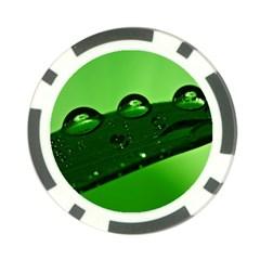 Waterdrops Poker Chip (10 Pack)